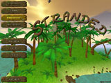 The main menu of Stranded II